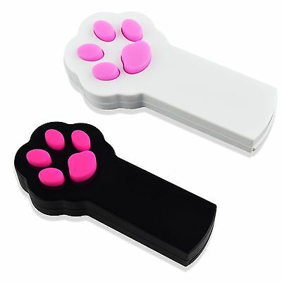 Gimars Paw Style Dog Cat Catch the Interactive LED Light Pointer Red Pot Exer...