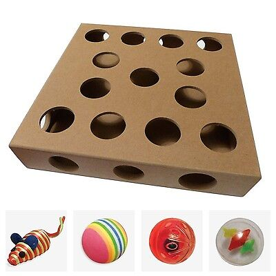 Unique Design New for 2016 - Cat Toy Puzzle Box - As Seen on TV Channel 5's T...