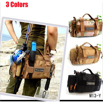 High capacity Outdoor Fishing Tackle Bag Waist Pack Portable Bags Backpack
