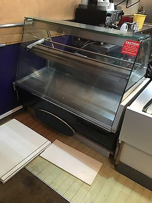 Catering Display Fridge And Hot Plate