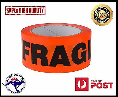 Fragile Sticky Packing Tape 24 x  Rolls 75m x 48mm 45 Micron- High Adhesive