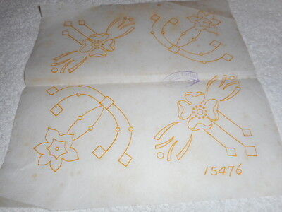 Vintage Embroidery Iron on -Deightons No.15476 - Flowers