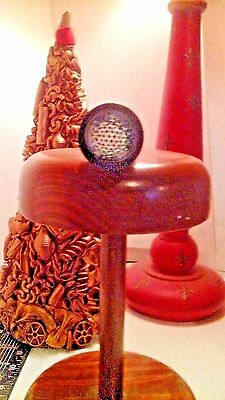 Wooden Vintage Kaleidescope/Taleidescope with Stand