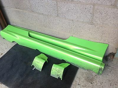 Genuine Ford Focus Rs Pair Side Sill Skirts In Ultimate Green 2009 - 2010