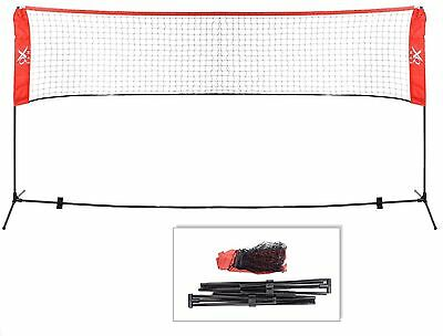 xQMax 3m or 4m Portable Mini Tennis Volleyball & Badminton Net (3 Metre Wide)