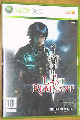 X Box 360 game The Last Remnant