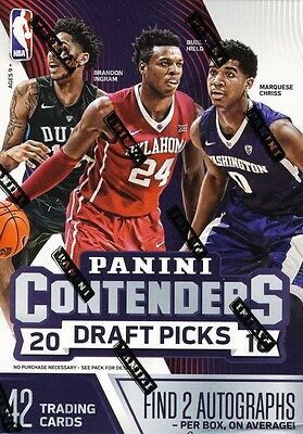 NBA 2016/17 - Panini Contenders Basketball - 7 Pack Blaster Box (2 Autographs)
