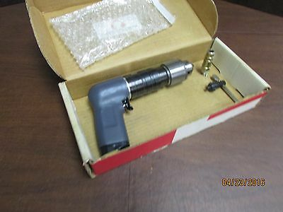 """Ingersoll Rand IR 7ANST8 air drill, 1/2"""" Jacobs chuck, New tool, but with engrav"""
