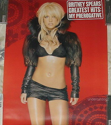 Britney Spears Greatest Hits My Prerogative Taiwan Promo Poster