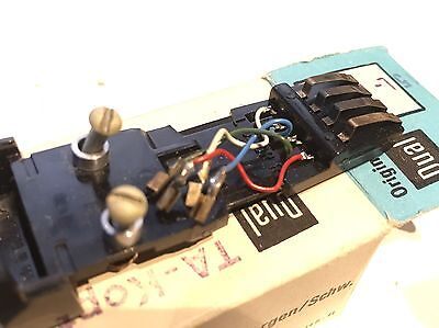New Boxed Original Vintage Dual 1009 Headshell Sled for turntable - OEM Spare