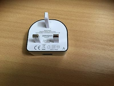 Genuine Amazon Fire Tablet 5V 1A USB Mains Wall Charger 5W Power Adapter - NEW!