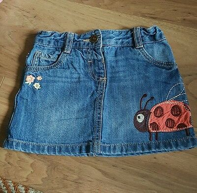 Girls demim skirt age 2-3