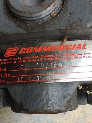 New Parker Commercial Hydraulic Pump # 308-9110-084