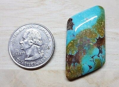36.30 Cts Natural Bisbee Turquoise Polished Cabochon Mineral #BIS7