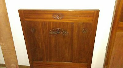 2 x Antiques Front + Rear beds - first 1900s - Italian style - Private carrier