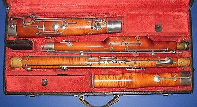 Artia Bassoon & Bocal with case USED