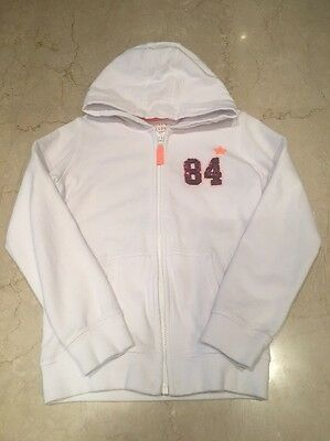 Girls Marks & Spencer M&s Hooded Top Age 9 To 10 Years Worn Once