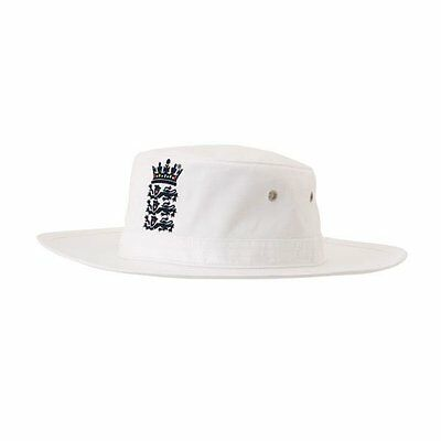Adidas England Cricket Replica White Sun Hat