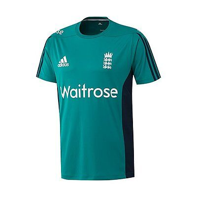 Adidas 2016 England Cricket Replica Junior Training T-Shirt