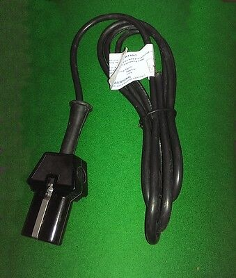 Snooker Table Iron plug + lead,Billiards,Pool,fits new irons & old style Dowsing