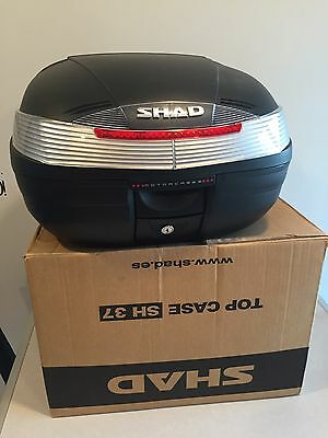 Coffre Top Case SHAD SH37 Moto Scooter 50/125 maxi Scoot 37 litres NEUF sh 37