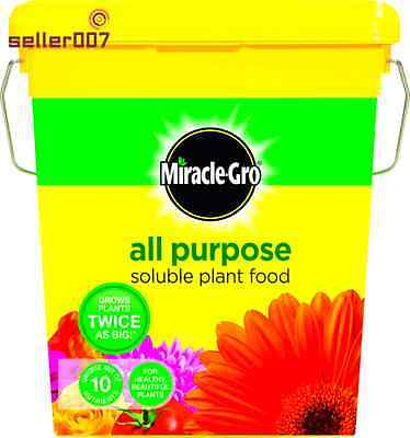 Soluble Plant Food 2Kg Tub Grows Plants Gardening Tool Lawn Accessory By Scotts