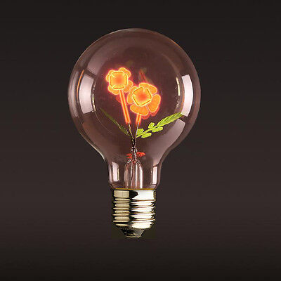E27 3W Edison Sun Flower Incandescent Light Bulb Wedding Party Decorative Lamp