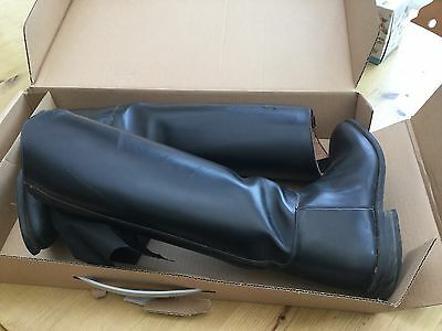 Petrie Ladies Leather Long Riding Boots Size 7