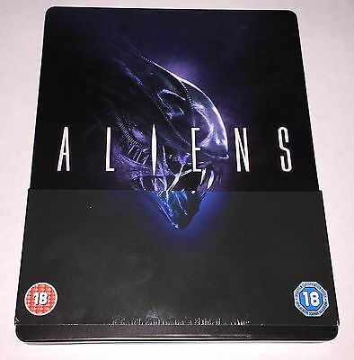Aliens James Cameron Bluray Steelbook Sold Out Rare Play.com