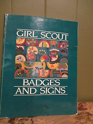 Girl Scout Badges and Signs 1990