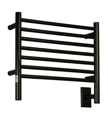 Amba Jeeves Wall Mount Electric H Straight Towel Warmer Oil Rubbed Bronze