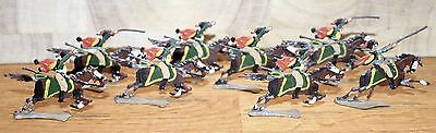 Napoleonic Wars Lead/Tin Flat Soldiers - French Hussars 2
