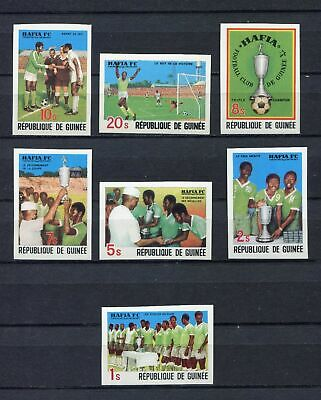 s12268) GUINEA MNH** Nuovi** 1979, African football 7v IMPERFORATED