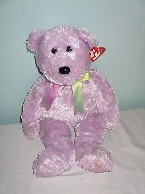 TY The Beanie Buddies Collection Bear. 14 inches high. Retired. 2002