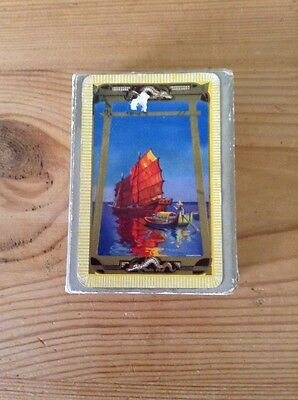 pack of vintage linen finish playing cards