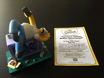 Simpsons Hamilton At Home With Homer Collection Television Teacher Sculpture