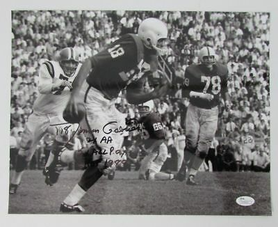 Roman Gabriel North Carolina State Signed/Autographed 11x14 Photo JSA N70629