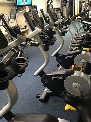 Pulse 240G U- Cycle Upright Bike Commercial Gym Equipment Fusion Range In Stock