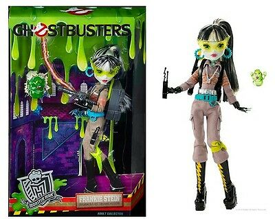 FRANKIE STEIN GHOSTBUSTERS SDCC MONSTER HIGH doll limited san diego comic con LE