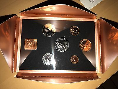 1971 Royal Mint Coinage of Great Britain and N Ireland Proof Coin Year Set