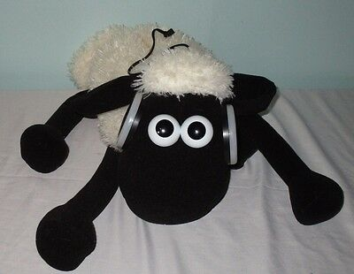 """15"""" Shaun the Sheep Soft Toy Wallace and Gromit IPOD MP3 MUSIC SPEAKER"""