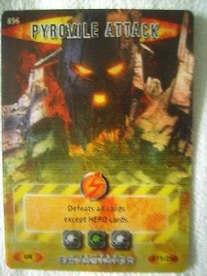 Dr Doctor Who - Battles in Time Ultra Rare Card. Number 896 - PYROVILE ATTACK