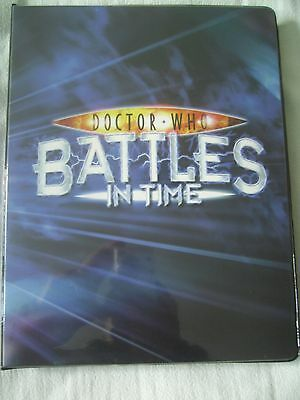Doctor Who -Battles In Time Binder + 432 Rare & Common Cards, Devastator Cards