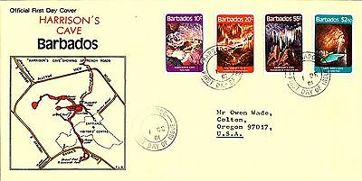 Geology Harrison's Cave Cavern 1981 Barbados Fdc
