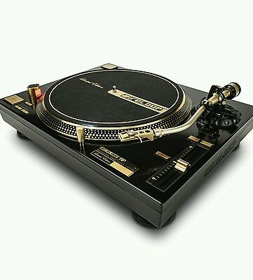 Reloop 7000 Gld Turntable Gold.