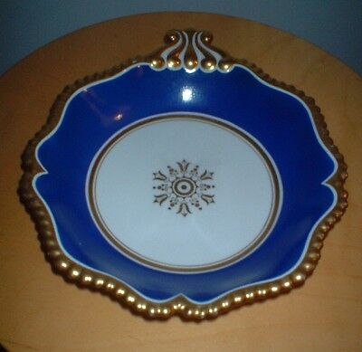 EARLY 19th C FLIGHT BARR AND BARR WORCESTER POTTERY DISH