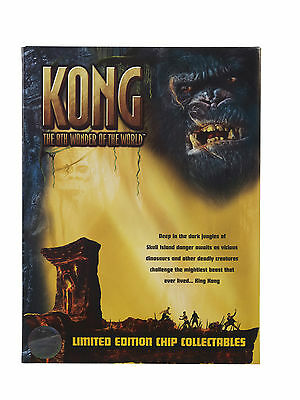 King Kong  Limited Edition Set Of 12 Casino Poker Chips