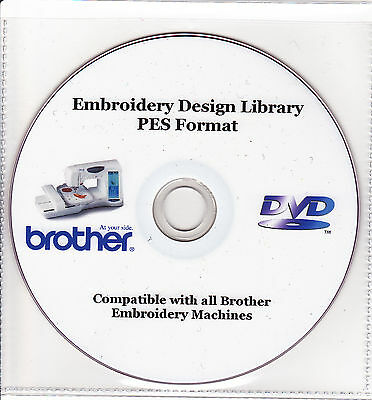 36,000+ PES Brother Machine Embroidery Designs & Full Colour Catalogue