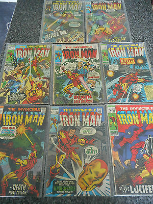 The Invincible Iron Man Issues: 20-21-22-23-26-27-28-29 collection