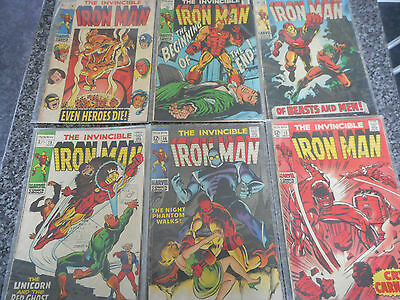 The Invincible Iron Man Issues: 13 -14 -15 -16 -17 -18 collection